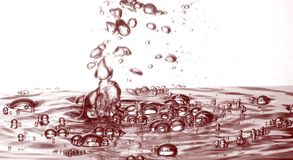Oil splash Royalty Free Stock Photo