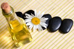 Oil and stones Royalty Free Stock Images