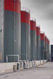 Oil storage Stock Image