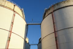 Oil storage Stock Photo
