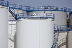 Oil Storage Royalty Free Stock Photos