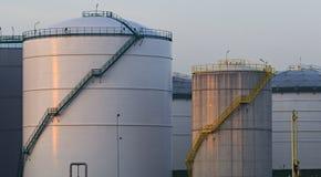 Oil storage Royalty Free Stock Photo