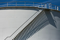 Oil storage tank Royalty Free Stock Photography