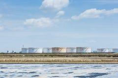 Oil storage tank Stock Image