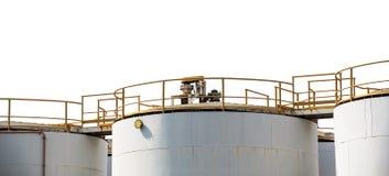 Oil storage tank Royalty Free Stock Photos