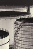 Oil storage tanks Royalty Free Stock Photo