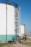 Oil storage tanks Stock Photography