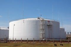 Oil storage tanks Stock Photos