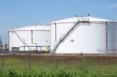 Oil Tank Royalty Free Stock Images
