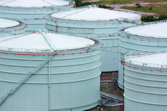 Oil tank Royalty Free Stock Image