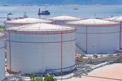 Oil tank Stock Photography