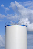 Oil tank Royalty Free Stock Photos