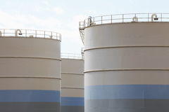 Oil tank Stock Image