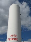 Oil tank Royalty Free Stock Photography