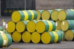Oil tank Stock Image