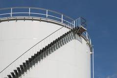 Oil tank in Amsterdam Stock Photo