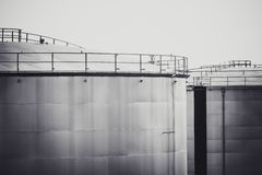 Oil tank for background Stock Photography