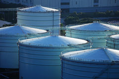 Oil tank Stock Photography