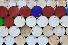 Oil tank Stock Images