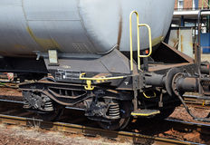 Oil tank railway carriages Royalty Free Stock Photos