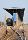 Oil tank train Stock Images