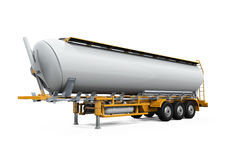 Oil Tank Truck  Royalty Free Stock Photos