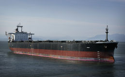 Oil tanker. At the ocean Stock Photography