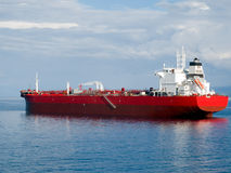 Oil tanker. Waiting for a docking Stock Photos