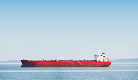 Oil tanker. Waiting for a docking Stock Photography