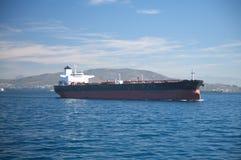 Oil tanker boat Stock Images