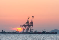 Oil tanker, Gas tanker Stock Photos
