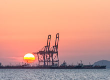 Oil tanker, Gas tanker Royalty Free Stock Image