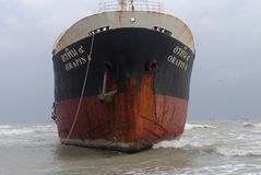 Oil Tanker Royalty Free Stock Photos