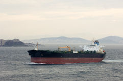 Oil Tanker, Istanbul Royalty Free Stock Image