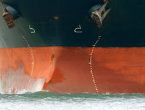 Oil Tanker Prow Royalty Free Stock Photography