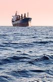 Oil tanker at sea. Oil tanker sailing at sea Stock Photos