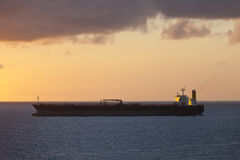 Oil tanker at sea Royalty Free Stock Image