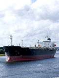 Oil tanker ship. In a port Royalty Free Stock Photos