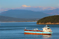 Oil Tanker Ship Royalty Free Stock Photography