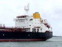Oil Tanker ship in harbor Royalty Free Stock Photo