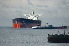 Oil Tanker Ship Royalty Free Stock Image