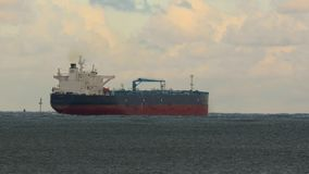 Oil tanker ship stock video footage