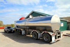 Oil Tanker Truck Stock Photos