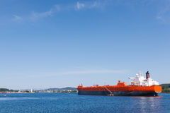 Oil tanker vessel Royalty Free Stock Images