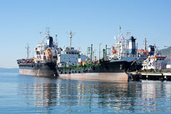 Oil-tankers Stock Photo