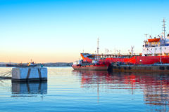 Oil-tankers Royalty Free Stock Photography