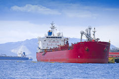 Oil tankers Stock Image