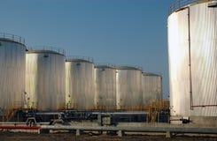 Oil Tanks Stock Photography