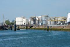 Oil tanks Stock Photos