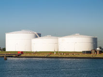 Oil Tanks Stock Photography